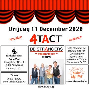 4TACT staat op 11 december in het Fakkeltheater