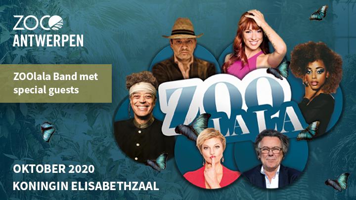 ZOO Antwerpen lanceert concertreeks ZOOlala in Koningin Elisabethzaal